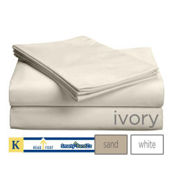 618TC Split King Luxury Bed Sheets